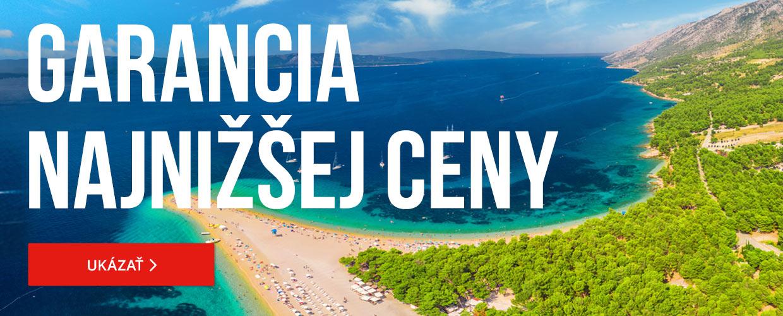 835f8c12149a0 Odporúčame: Hotel Plaža a dependencia hotela Plaža*** | 8-dňový zájazd do  Chorvátska v hoteli priamo pri pláži