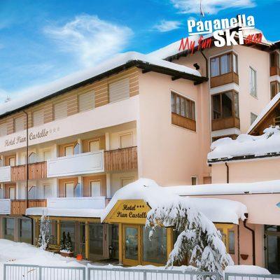 Hotel Piancastello – 5denný Lyžiarsky Balíček So Skipasom A Dopravou V Cene***