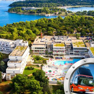 Skrátená Dovolenka Na Istrii V Hoteli Delfin S Bazénom A Dopravou V Cene**