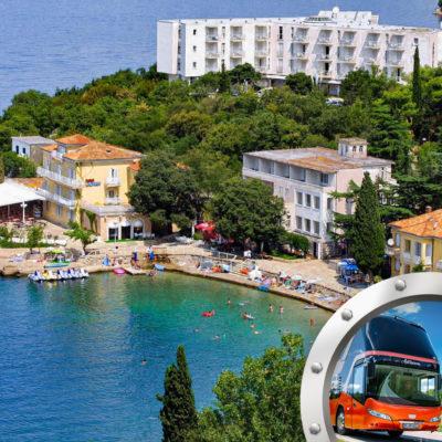 Zkrácená Dovolená Na Kvarneru V Hotelu Adriatic S Dopravou V Ceně**